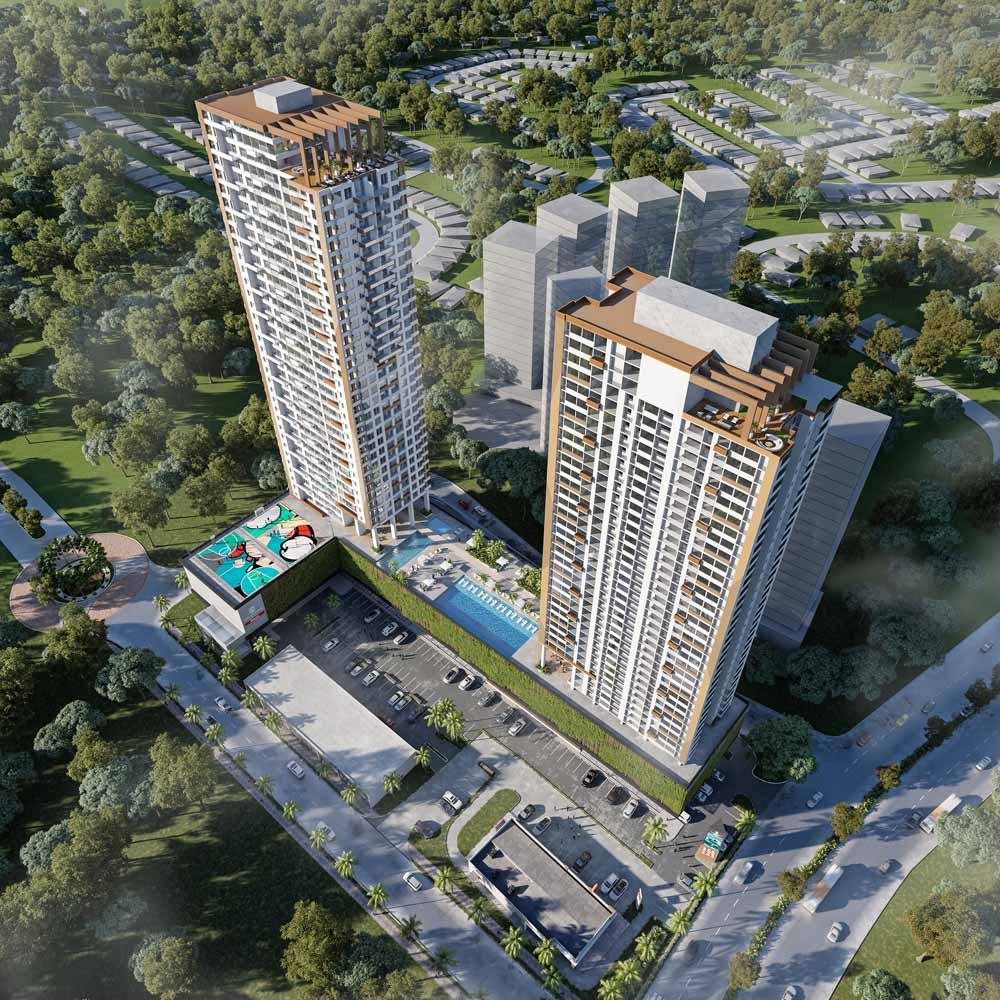 Greenwood Towers Hermoso Apartamento Semi Amoblado en Alquiler